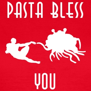 pasta bless you white - Women's T-Shirt