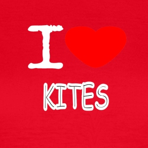I LOVE KITES - Women's T-Shirt