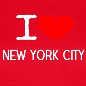 I LOVE NEW YORK CITY - T-skjorte for kvinner