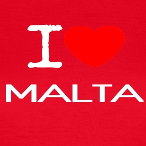 I LOVE MALTA - Frauen T-Shirt