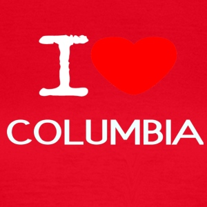 I LOVE COLUMBIA - Women's T-Shirt