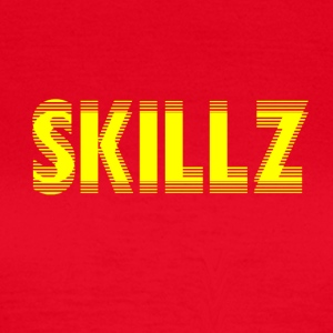 SKIIIILZ [skillz ORIGINAL] - T-skjorte for kvinner
