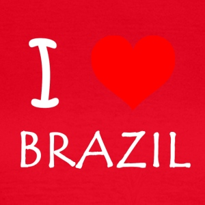 I Love Brazil - Women's T-Shirt