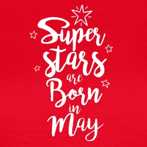 Superstars May birthday gift - Women's T-Shirt