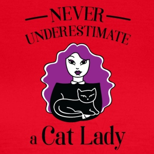Crazy cat lady lover - Women's T-Shirt