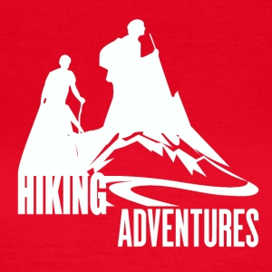 Hiking Adventures - Wanderlust - Vrouwen T-shirt