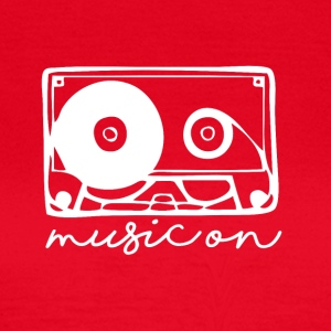 Music On - Musik Passion - T-shirt dam