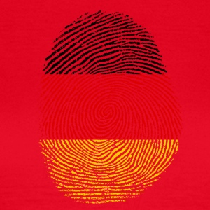 German fingerprint - Women's T-Shirt