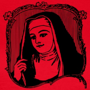 Marie picture nun - T-shirt dam