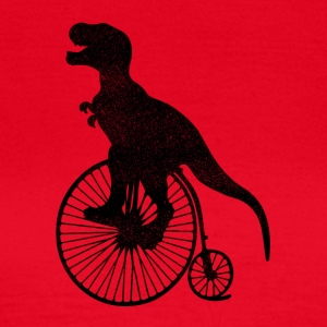 T-Rex Bicycle - Women's T-Shirt