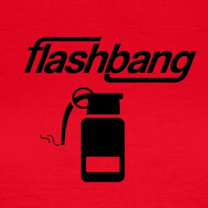 Flash Bang Log - Without Donation - Women's T-Shirt