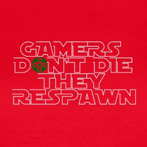 Gamer - De Respawn! - T-shirt dam