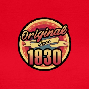 Gift for the 87th birthday - vintage 1930 - Women's T-Shirt