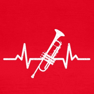 My heart beats for the trumpet - Women's T-Shirt