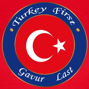 Turkey FIRST - Women's T-Shirt