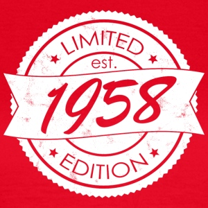 Limited Edition 1958 is - T-shirt Femme