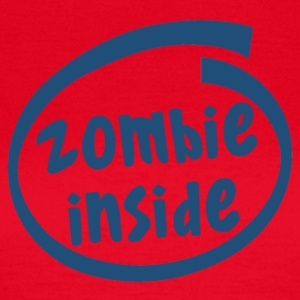 zombie inside (1840C) - Women's T-Shirt