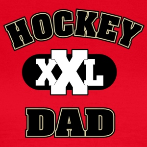 hockey Dad - T-skjorte for kvinner