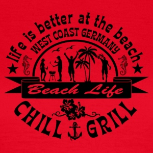 Chill Grill West Coast - Frauen T-Shirt