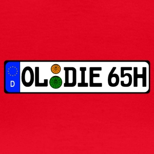 Oldie 65 historically - Women's T-Shirt