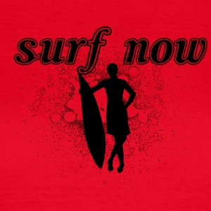 Surfer girl 02 black - Women's T-Shirt