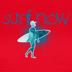 surf now surfer with cap - Women's T-Shirt