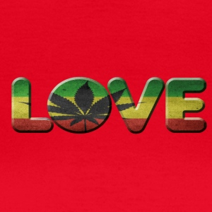 i love cannabis - Frauen T-Shirt