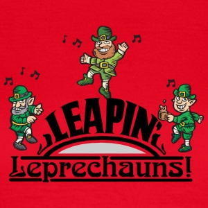Irish Leaping Leprechauns - Frauen T-Shirt