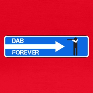 DAB FOREVER WHITE - Vrouwen T-shirt