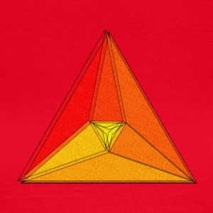 Enzoma - gradient in the triangle - Women's T-Shirt