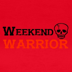 Shirt Weekend Warrior Weekend Party - Women's T-Shirt
