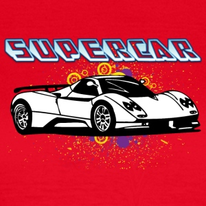 Supercar white - Women's T-Shirt