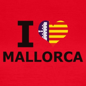 I LOVE MALLORCA FLAG - Frauen T-Shirt