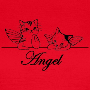 Isle of Angel Cats - Women's T-Shirt