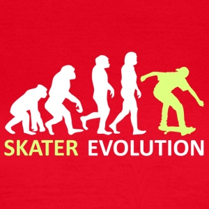 ++ ++ Skater Evolution - Dame-T-shirt