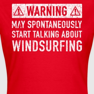 Windsurfing Gift: Order Here - Women's T-Shirt