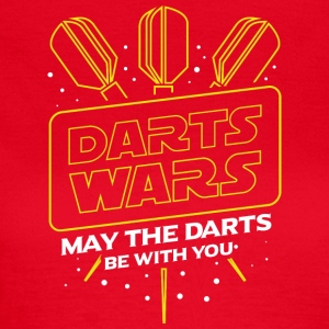 DARTS WARS - MAY THE DARTS BE WITH YOU - Women's T-Shirt