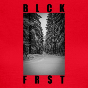 Black_Forest - Dame-T-shirt