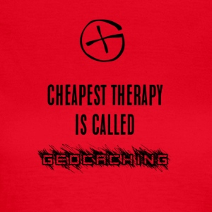 geocaching therapy - Women's T-Shirt