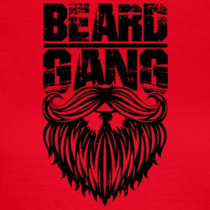 beard gang black - Frauen T-Shirt