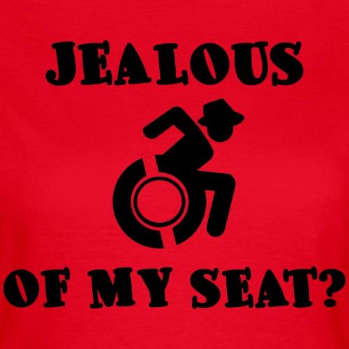 Jaloers op mijn rolstoel? - Vrouwen T-shirt