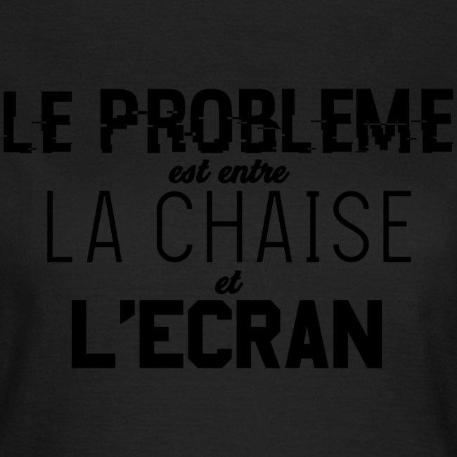 Le vrai problème