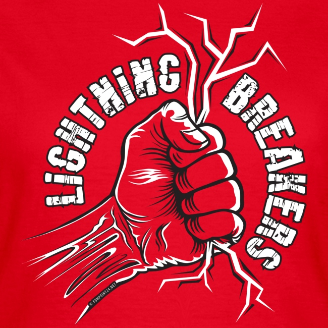 Lightning Breakers - print textiles and Gifts