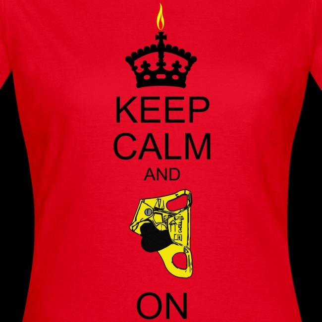 keep calm and croll on