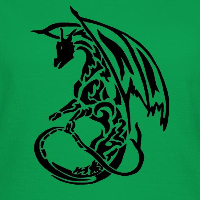 T-shirt Eaven Tribal - Dragon Clair Femme