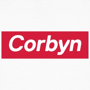 Jeremy Corbyn Box Logo - Men's Organic T-shirt