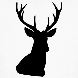 deer head - Men's Organic T-shirt