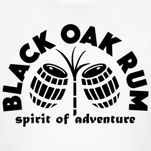 Black Oak Rum - Mannen Bio-T-shirt