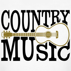 country music - Männer Bio-T-Shirt