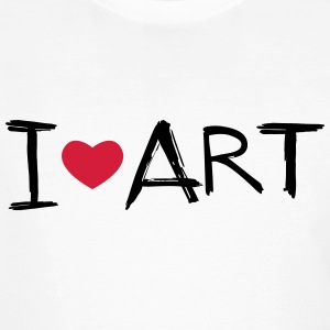 I love Art - Men's Organic T-shirt